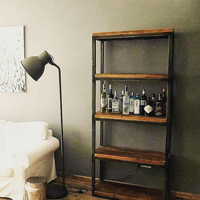 52 Besten Industrial Chic - Wood & Metal Furniture Bilder Auf ... Industrial Chic Wohnzimmer