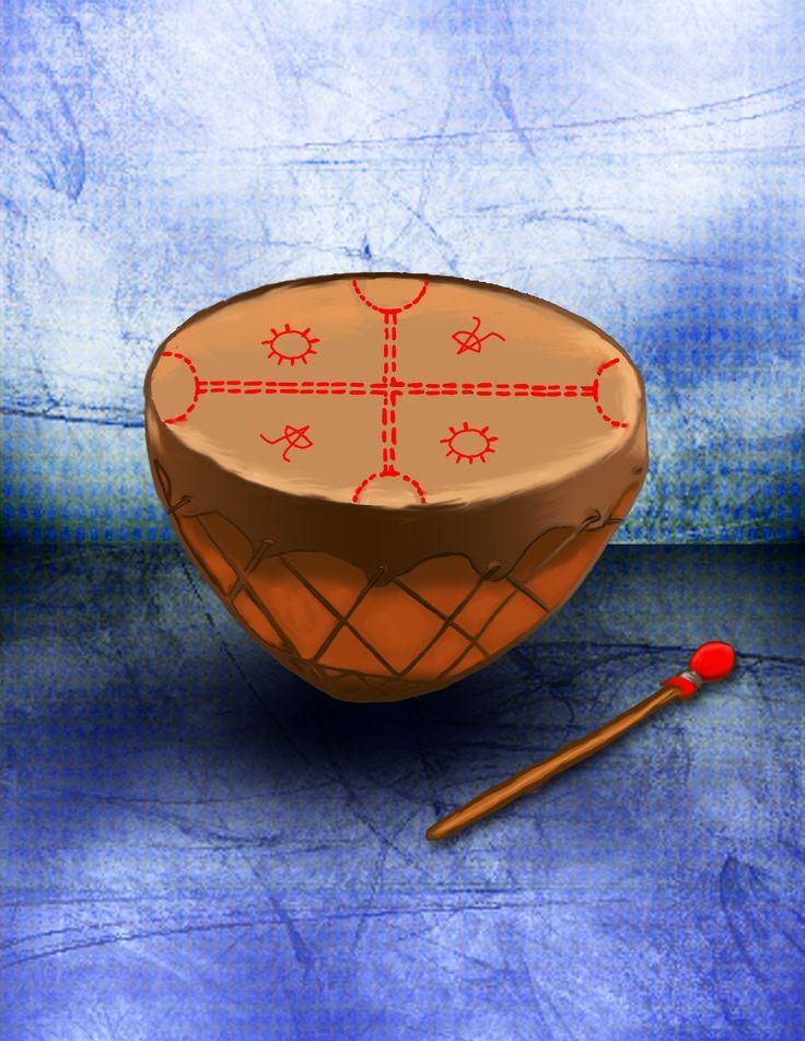 El cultrún es un tambor ceremonial, el instrumento musical más importante de la cultura mapuche.
