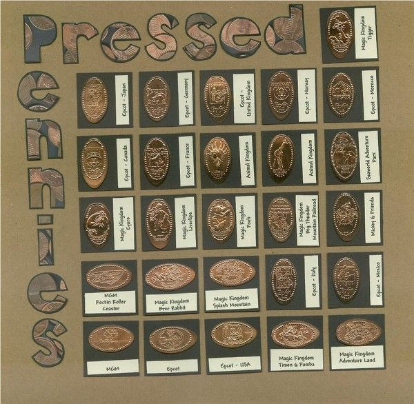 24 Best Crafty Pressed Penny Ideas Images On Pinterest