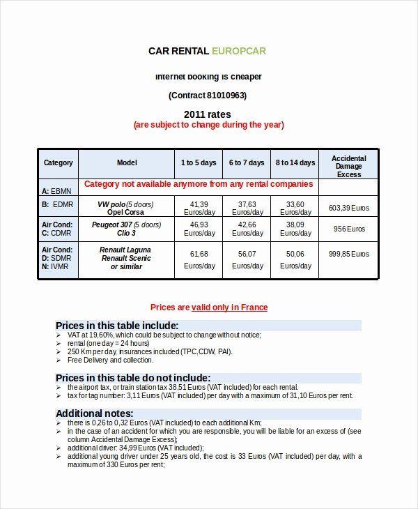Car Rental Receipt Template Elegant Rental Invoice Template 17 Free Word Pdf Document Invoice Template Word Invoice Template Receipt Template