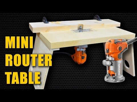 Best 25 woodworking videos ideas on pinterest woodworking for make a mini router table for trim router laminate router youtube greentooth Choice Image