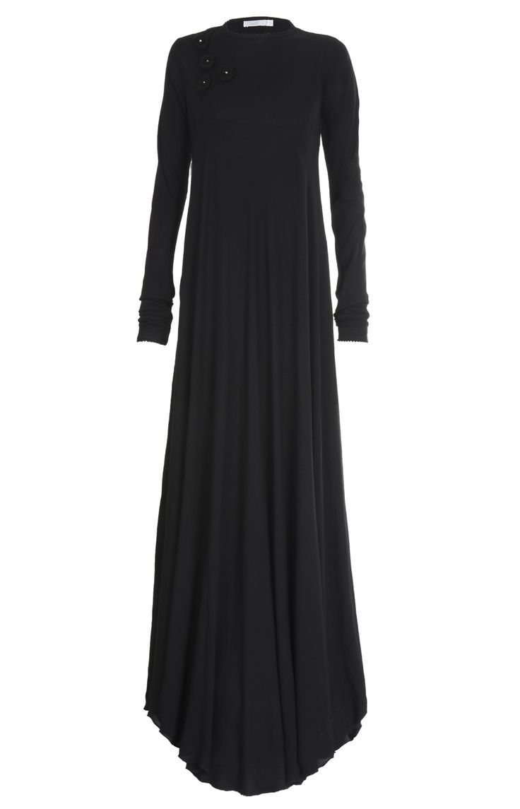 Aab UK Crochet Flare Abaya : Standard view