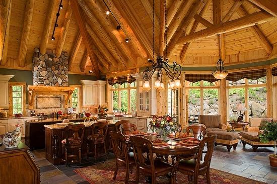 By Jennifer Szukala On Mountain Get A Way Log Home Cabin Pinter