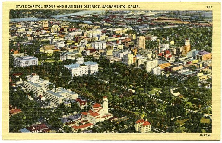 111 Best Vintage Sacramento Images On Pinterest Sacramento American History And Birds Eye View