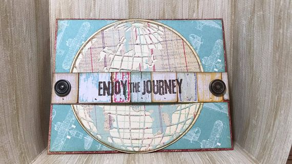 Enjoy The Journey Card//Handmade Card