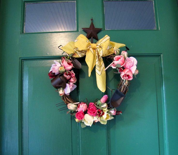 Miniature Garden Tool Wreath