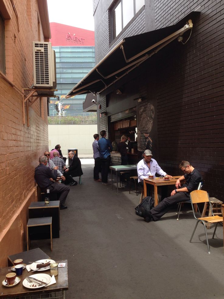 Pop-up lane cafe, Parramatta
