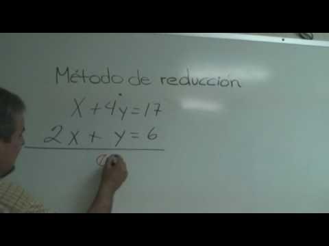 Ecuaciones 2º grado método reducción   http://www.youtube.com/watch?v=411n0TnBl38  También en   http://www.youtube.com/watch?v=byGzv-krwPQ