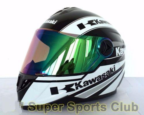 Full-Face-Kawasaki-Motorcycle-DOT-Standard-Breathable-Helmet