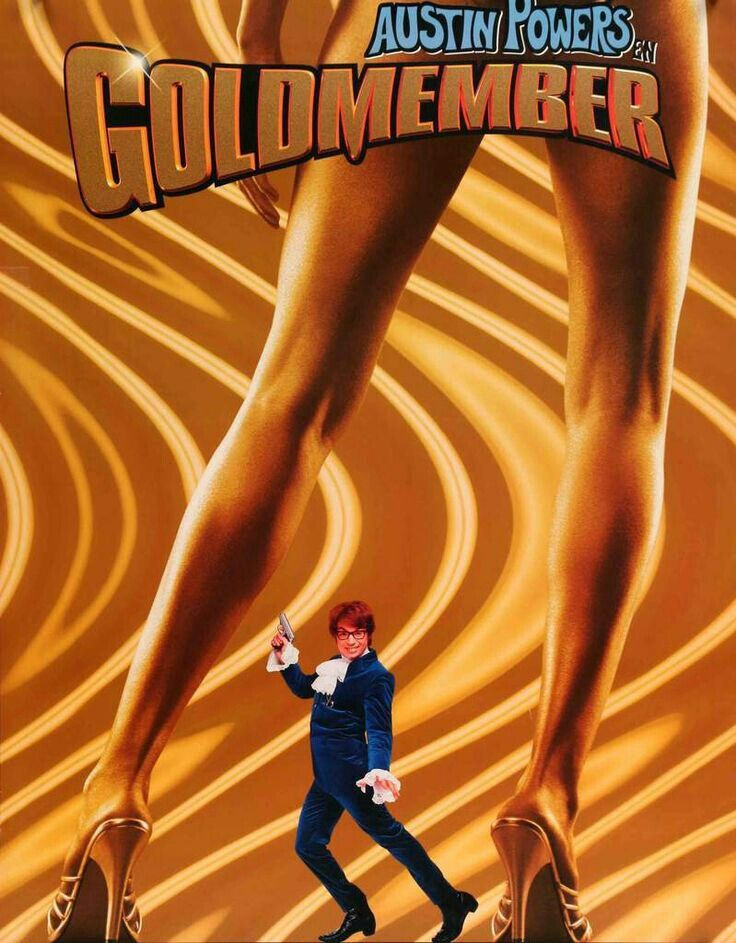 Austin Powers: Goldmember (2002). Poster 2.