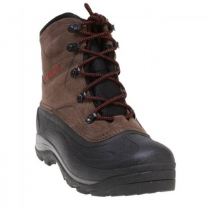 SALE - Columbia Cascadian Winter Boots Mens Brown Leather - Was $94.95 - SAVE $5.00. BUY Now - ONLY $89.95