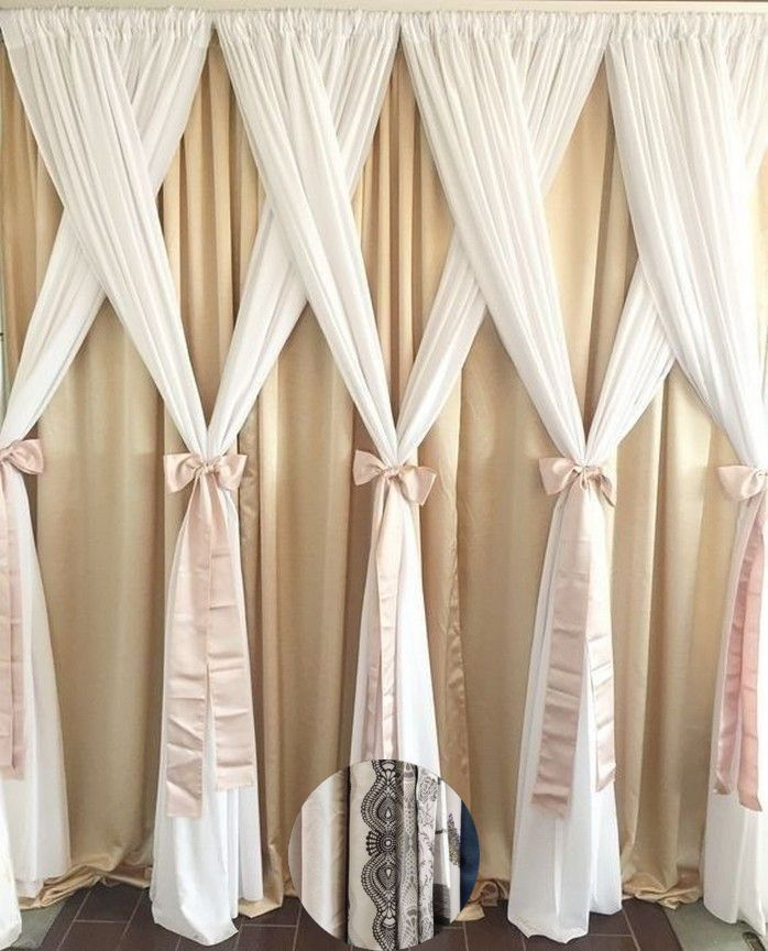 Curtains Style Color And Curtain Color With Black Furniture
