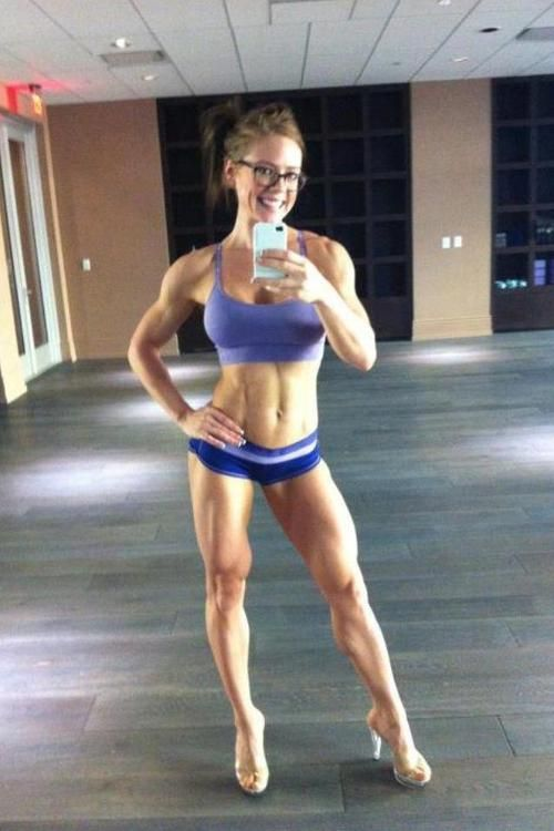 awesome female muscle mass! | Thinspiration | Pinterest ...