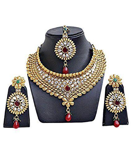 VVS Jewellers Red Stone Indian Bollywood Designer Gold Pl... https://www.amazon.com/dp/B071ZH6RRP/ref=cm_sw_r_pi_dp_x_PjZvzbMTW3MY7