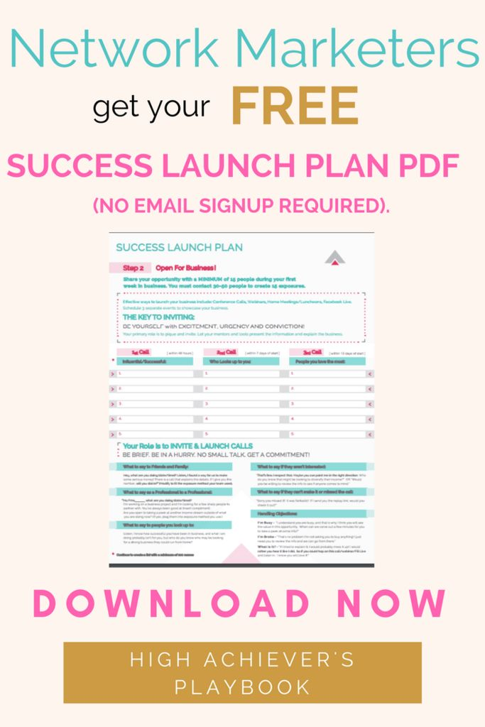 24 best best of the high achievers playbook images on pinterest document success launch plan download your free fandeluxe Choice Image
