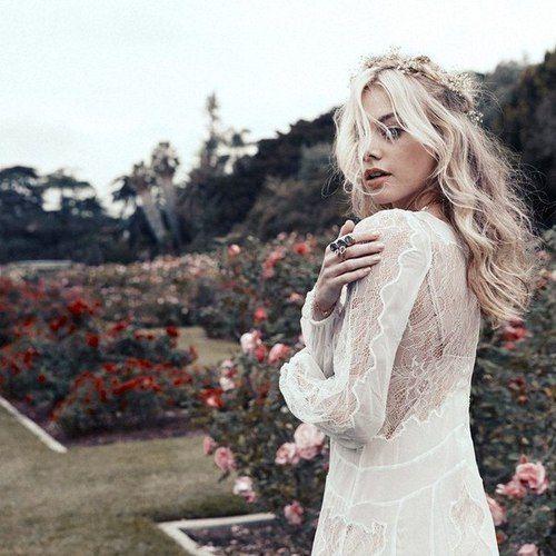 Walking amongst the roses