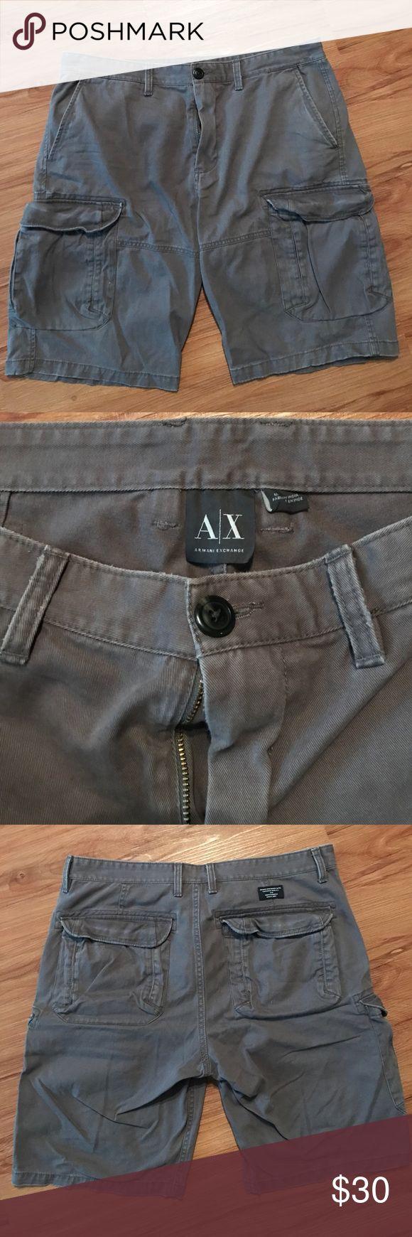 Armani Exchange Cargo Shorts Armani Exchange Cargo Shorts. Size 34. Great condition. A/X Armani Exchange Shorts Cargo