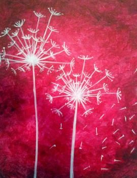 Dandelion King, David Daykin, Paint Nite