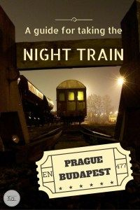 Planning a Eurotrip? Why not trying the night train? Review and my impressions from riding the night train on the line Prague - Budapest in a sleeping car.