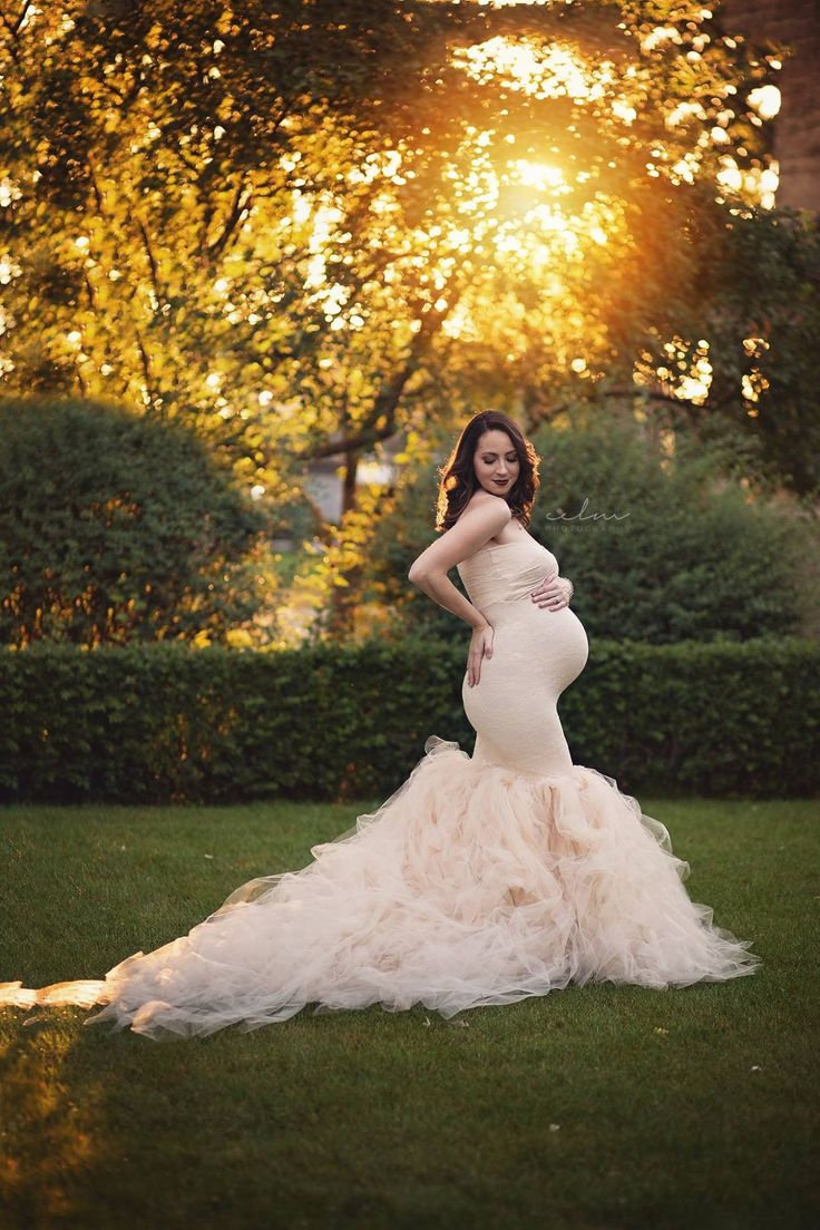 271 best maternity photoshoot dresses images on pinterest celine gown sweetheart lace and tulle pregnancy dress fitted mermaid style maternity gown ombrellifo Image collections