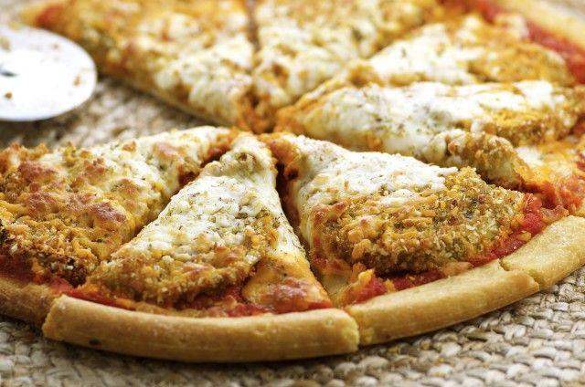 August 2: Eggplant Parmesan Pizza