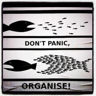 "#Organize! we can destroy the ""bully"" of your life with some concerted effort  #moneyproblems"