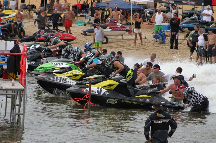 ..it's about to get chaotic! - Need a filter for your personal watercraft? Visit: http://www.knfilters.com/marine/personalwatercraft.htm
