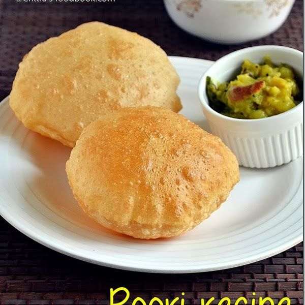 How to make Puffy poori/puri recipe -Southindian breakfast recipe with tips,tricks & step by step pictures