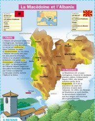 La Macédoine et l'Albanie - Mon Quotidien, le seul site d'information quotidienne pour les 10-14 ans !