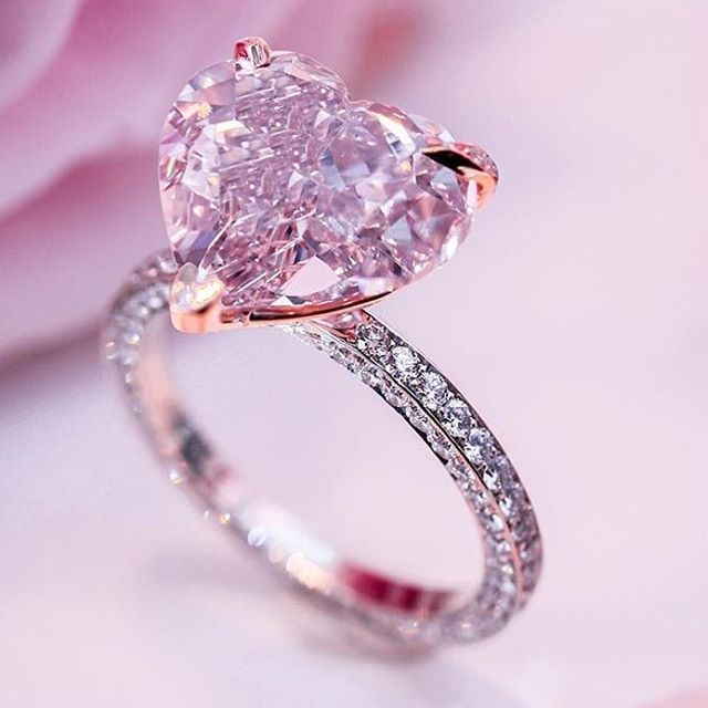 Best 25+ Pink diamond ring ideas on Pinterest | Pink diamond ...