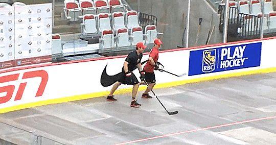 Sidney Crosby & Shea Weber, Circa August 2013.