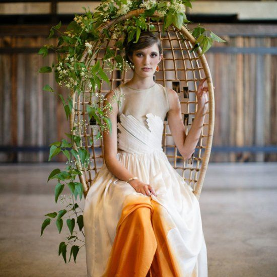 1000+ Ideas About Dipped Wedding Dress On Pinterest