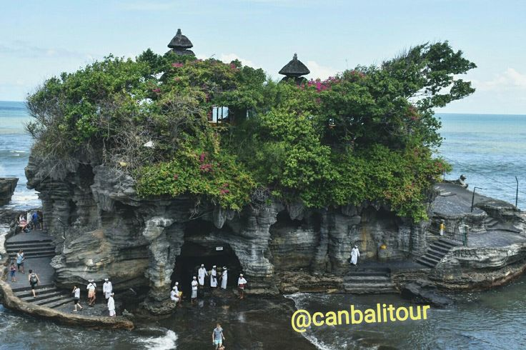 Tanah lot temple (one of icon from Bali)