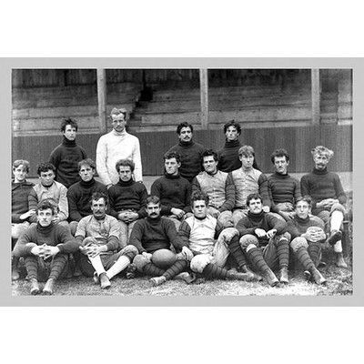 Buyenlarge University of Pennsylvania Football Team, Philadelphia, PA by Free Library of Philadelphia Photographic Print