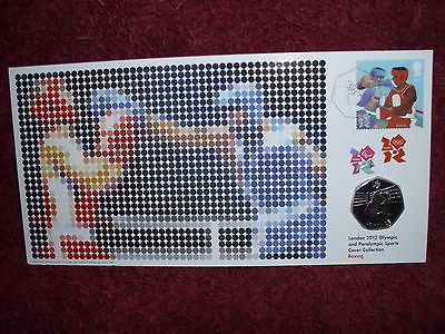 First day #cover commemorative stamp&olympic boxing #50p,numbered #limited edt,  View more on the LINK: 	http://www.zeppy.io/product/gb/2/391448189992/