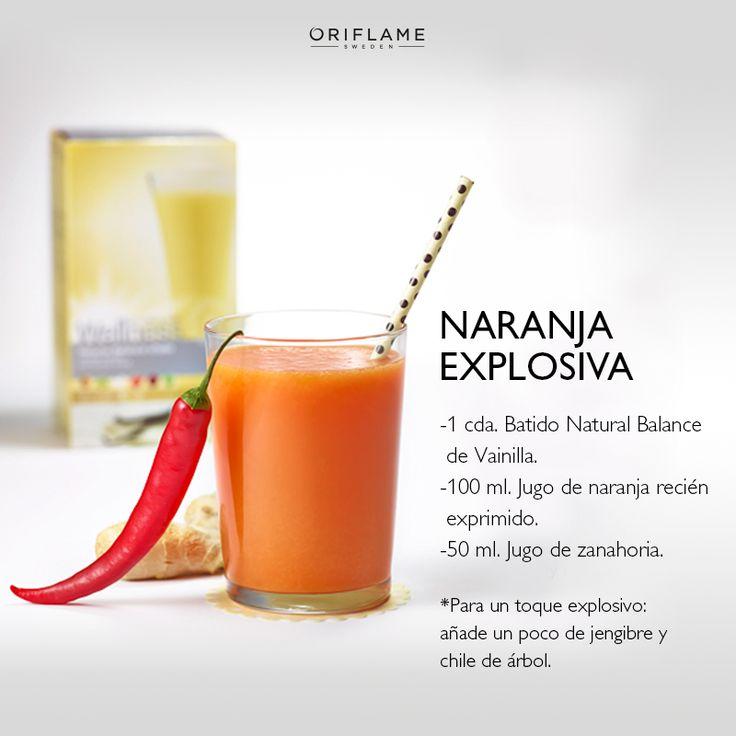 #WellnessByOriflame Atrévete a probar algo diferente ¡Sabor exótico que te encantará! #Naranja #Vainilla #Cuidado #Salud #Bienestar