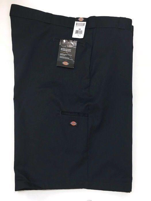 Dickies Loose Fit Shorts 58 Big Tall Navy Blue Cell Pocket Work Uniform New    eBay