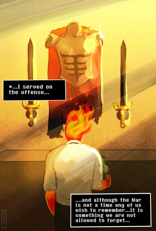 War Grillby-- Grillby.. or Hyperion??!! head canon accepted that he is the Greek titan.