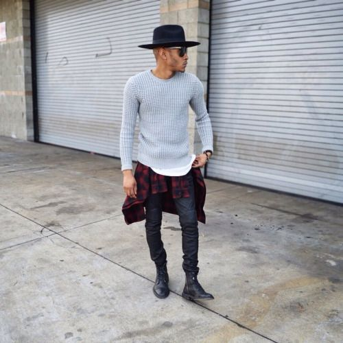 Menstyled Darion Famous (via Theattractiveboys) Moda