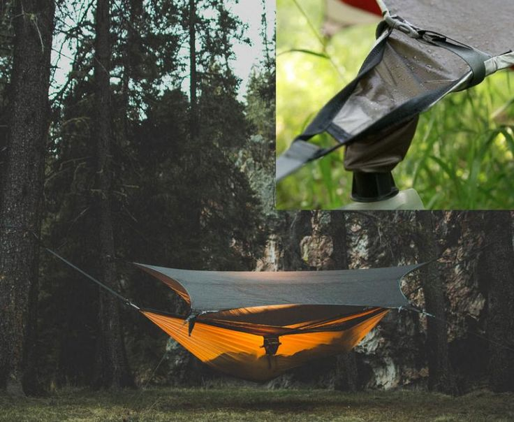 hammock tent with rain catching tarp   camping   pinterest   technology over it and the o u0027jays hammock tent with rain catching tarp   camping   pinterest      rh   pinterest