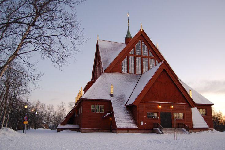 Church Kiruna, Sweden