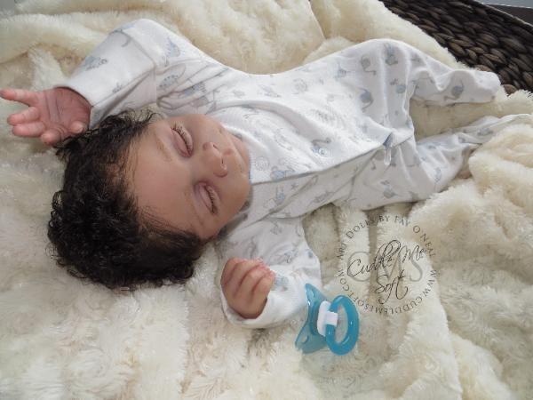 Adopted / Sold - Reborn Baby Boy by Fay O'Neal - www.cuddlemesoft.com