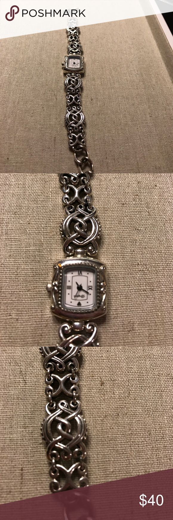Lovely Brighton watch . Lovely Brighton watch . I am also selling the matching bracelet . The watch needs a battery . Brighton Jewelry