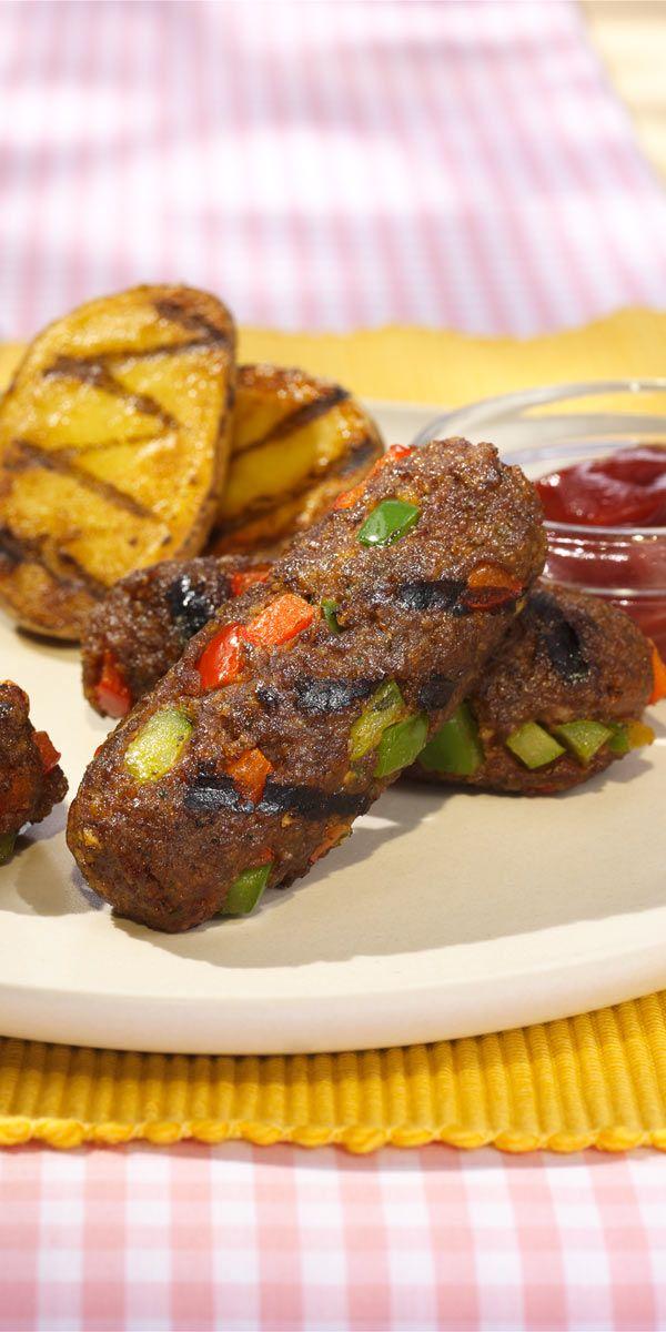 Du suchst nach einem schnellen und leckeren Rezept für die nächste Grillparty? Dann probier doch diese knusprigen Hackfleischröllchen mit Paprika!
