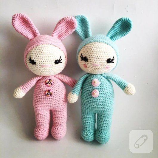 Amigurumi uyku arkadaşı oyuncaklar, sağlıklı çünkü yıkanabilir, yumuşacık çünkü sık iğne ile örülerek yapılıyor. en güzel örgü oyuncaklar, tilda kumaş bebek modelleri...