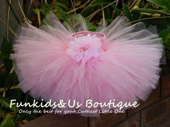 Pink Baby tutu skirt 691218 months Full by FunkidsandUsBoutique, $18.78