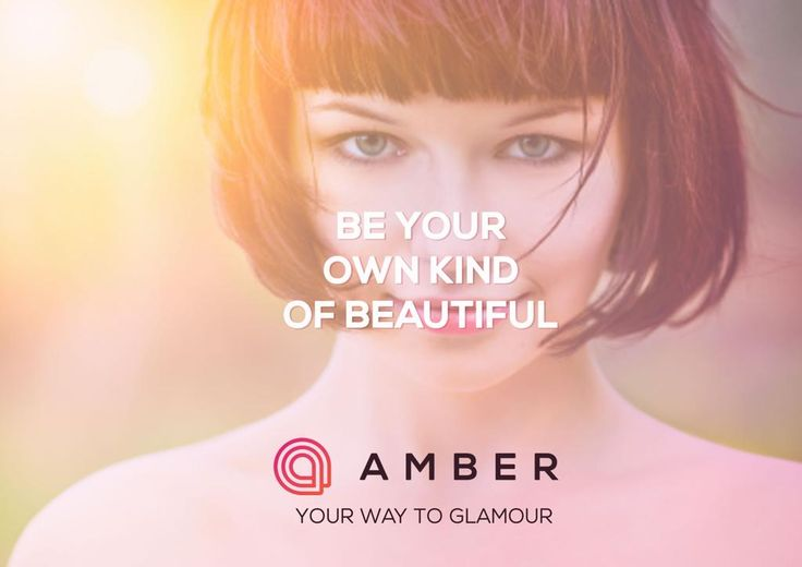 With Amber, you can be even more beautiful. Get your beta- invite today. http://getamber.com