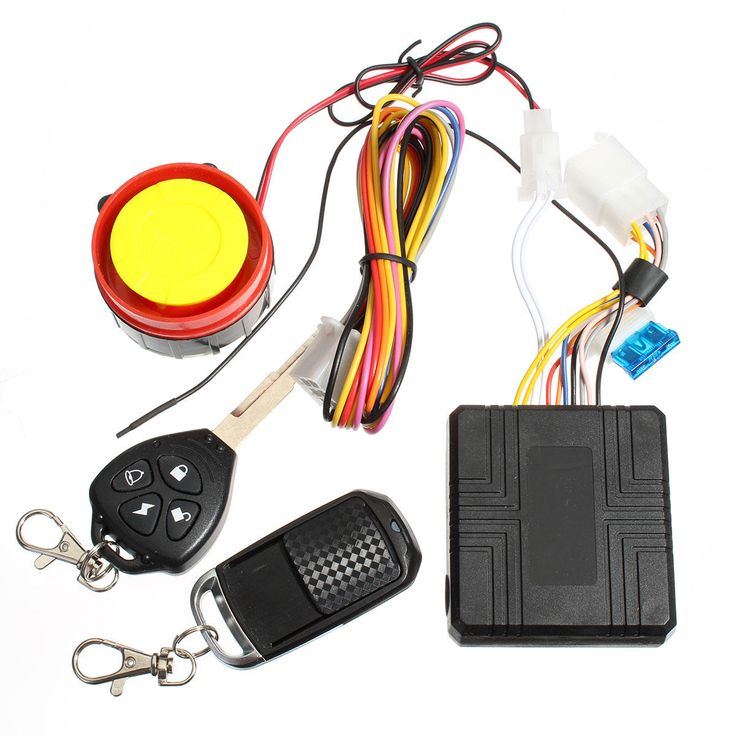US12.99 12V Motorcycle Security Alarm System Remote