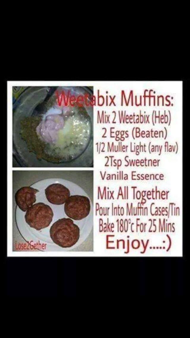 Slimming world weetabix muffins