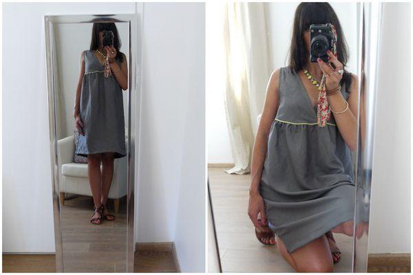 robe joli décolleté